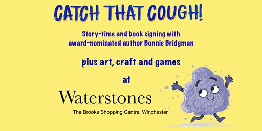 Catch That Cough: Story-time and book signing