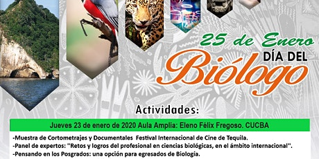 Festejo del ''Dia del Biologo'' en CUCBA boletos