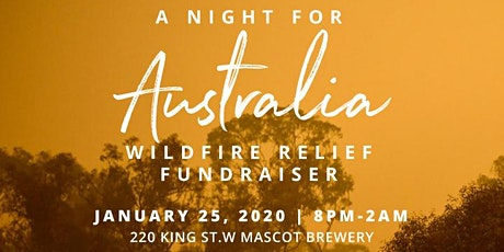 A Night for Australia at Mascot Brewery  tickets