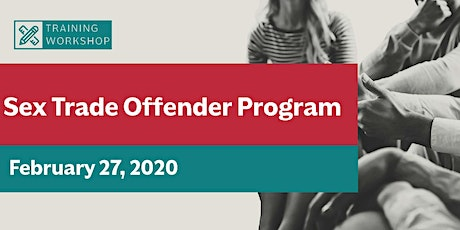 Sex Trade Offender Program (STOP) tickets