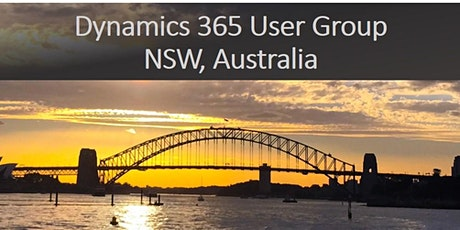 NSW Dynamics 365 User Group tickets