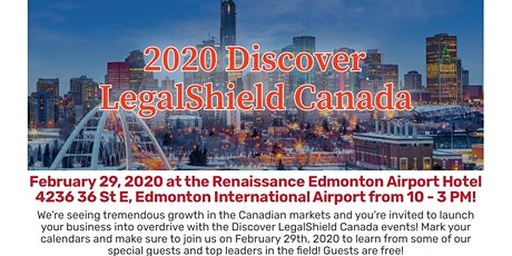 Alberta - Discover LegalShield Canada February 29th tickets