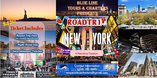 Road Expedition & Vacation to New York
