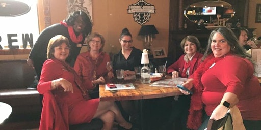 2020 MFRW Red Scarf Day Happy Hour