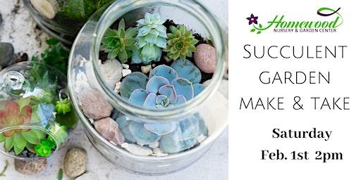 Succulent Garden Make & Take