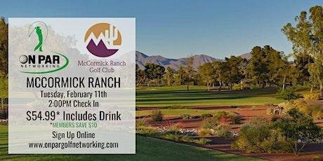 Scottsdale/Phoenix On Par Golf Networking February Event tickets