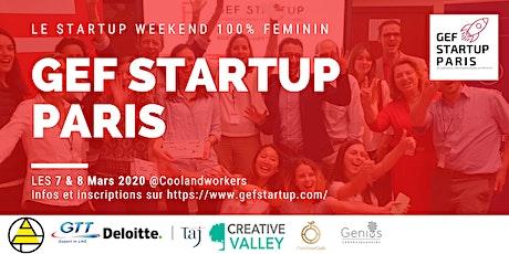 GEF Startup 2020 billets