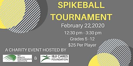 Second Annual Spike Ball Tournament @ IBJI Health Performance Institute tickets