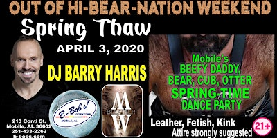 DJ Barry Harris at B-Bob's Spring Thaw Dance Party