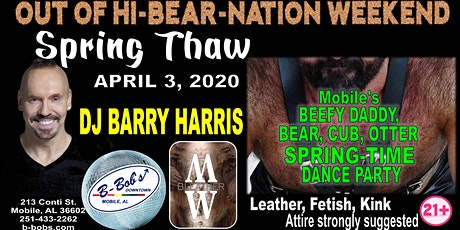 DJ Barry Harris at B-Bob's Spring Thaw Dance Party tickets