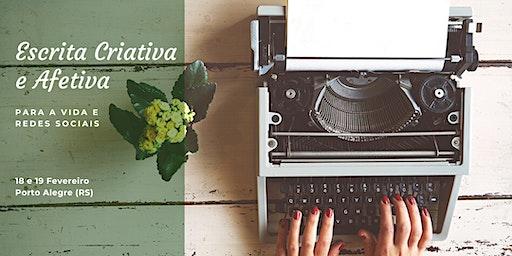 Curso de Escrita Criativa e Afetiva