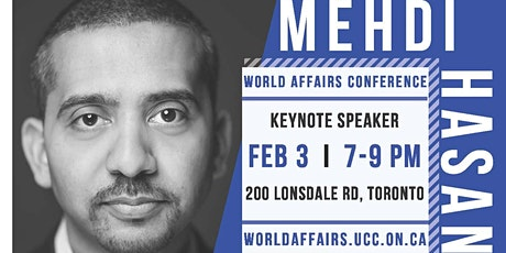 Mehdi Hasan Keynote: World Affairs Conference 2020 tickets