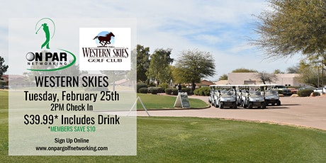 East Valley On Par Golf Networking February Event tickets