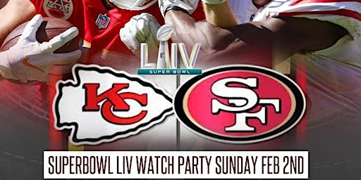 SUPER BOWL LIV viewing party THEORY LOUNGE