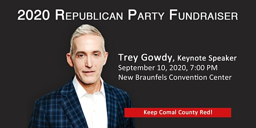 2020 REPUBLICAN PARTY FUNDRAISER