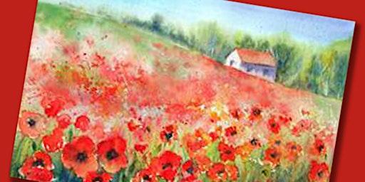 Poppy Fields Paint Party