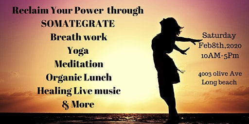 Reclaim Your Power Through Somategrate