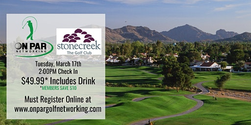 Scottsdale/Phoenix On Par Golf Networking March Event