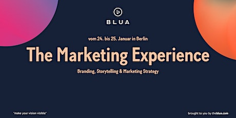 BLUA 18/31 Workshop - The Marketing Experience Tickets
