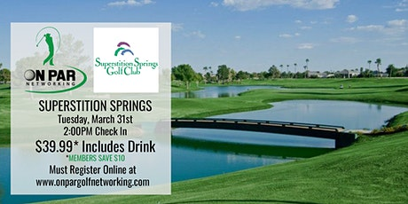 East Valley On Par Golf Networking March Event tickets
