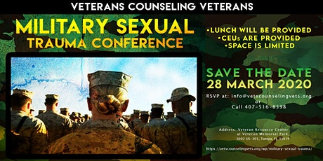 Veterans Counseling Veterans's Military Sexual Trauma Conference tickets