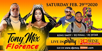 TONYMIX, FLORENCE, DJ SMOY LIVE IN PHILLY