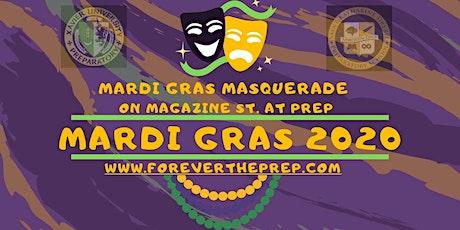 Krewe of Druids & Mystic Krewe of Nyx: Mardi Gras Masquerade on Magazine St @ Prep Weds 2/19/20 tickets
