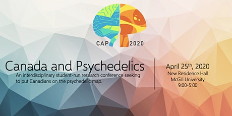 *New Date* CAP 2020 Canadians and Psychedelics Research Conference tickets