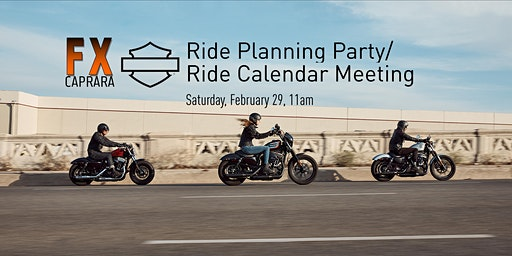 Ride Planning Party/Ride Calendar Meeting