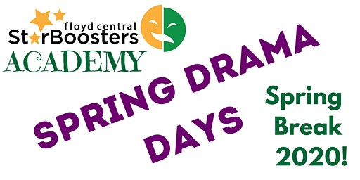Star Booster Academy Spring Drama Days