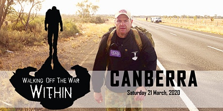 Walking Off The War Within 2020 - Canberra tickets