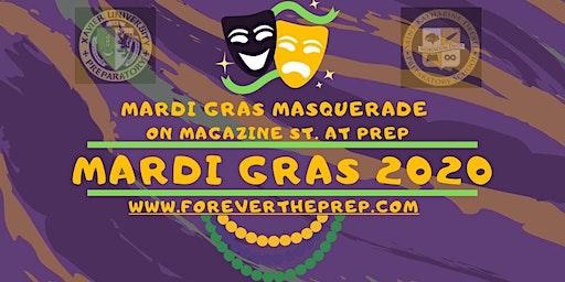 Krewe of Hermes, D'Etat, and Morpheus: Mardi Gras Masquerade on Magazine St @ Prep Fri 2/21/20