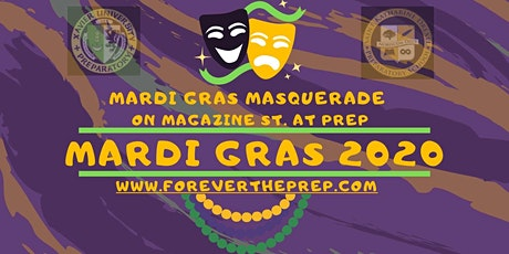 Krewe of Okeanos,Mid City, and Thoth: Mardi Gras Masquerade on Magazine St @ Prep Sun 2/23/20 tickets