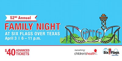 Family Night at Six Flags Sponsorships