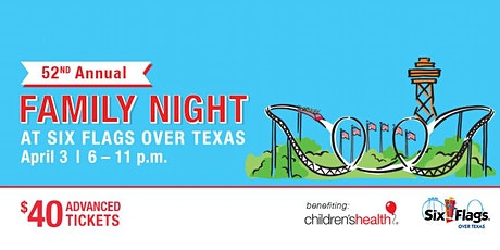 Family Night at Six Flags Sponsorships tickets