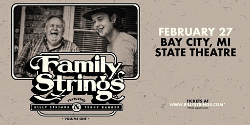 Family Strings feat. Billy Strings & Terry Barber