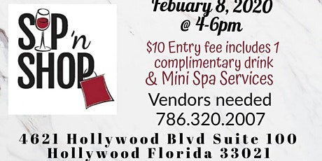 Sip & Shop in Hollywood  tickets
