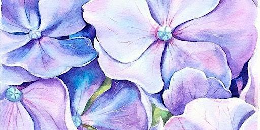 Hydrangea Paint Party