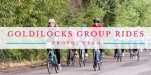Goldilocks Group Ride (Provo) - August 15