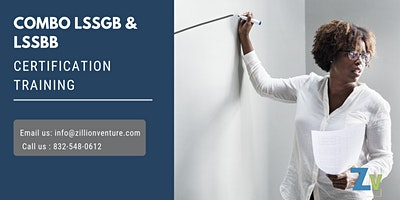 Combo of LSSGB & LSSBB 4 days Certification Training in Waterloo, ON