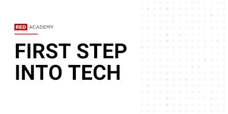 First Step Into Tech Workshop: Digital Marketing, Digital Design & Coding tickets