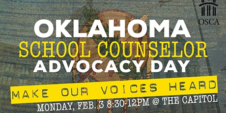 Make Our Voices Heard! Oklahoma School Counselor Advocacy Day tickets