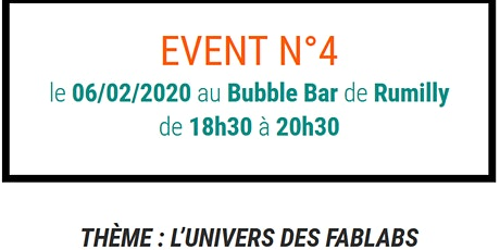 Coworking Tour Rumilly - L'univers des Fablabs ! tickets