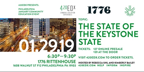 420EDx: Philly January Community Education Event tickets
