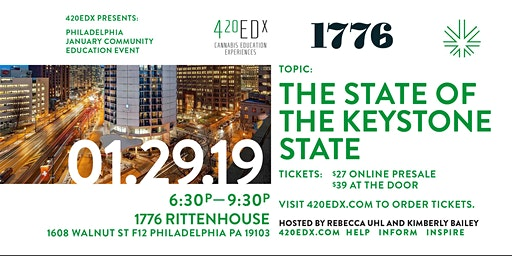 420EDx: Philly January Community Education Event