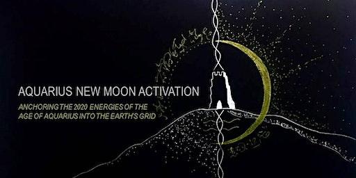 AQUARIUS NEW MOON ACTIVATION