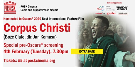 POSK Cinema: Corpus Christi - Tuesday, 4th February, 7.30pm tickets