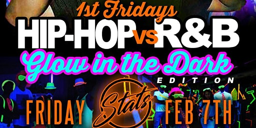 R&B vs Hip Hop Glow in the Dark Party
