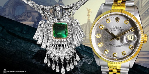 Calgary 01.26.2020 at 1pm – Fine Jewellery & Swiss Watch Live Auction