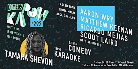 Comedy Kapow #292- Tamara Shevon tickets